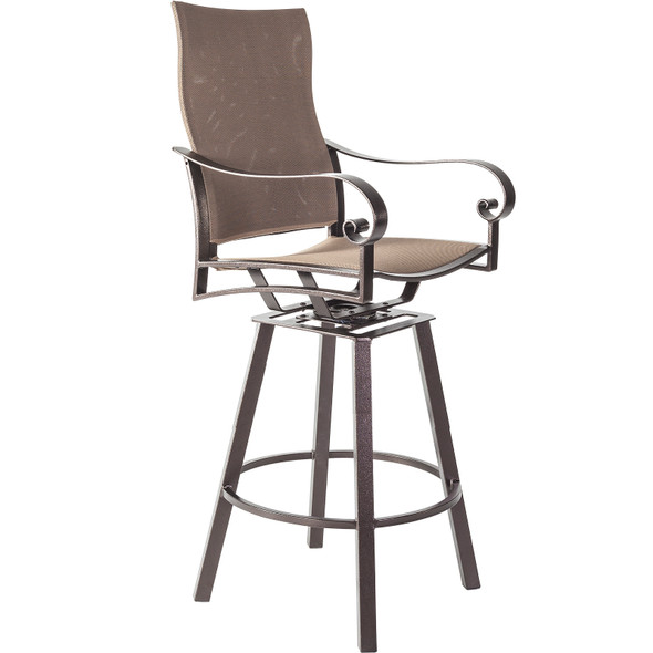 Pasadera Flex Comfort Swivel Bar Stool by OW Lee