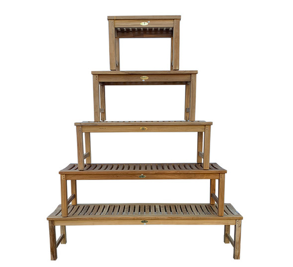 Madison Backless Bench 4' by Classic Teak