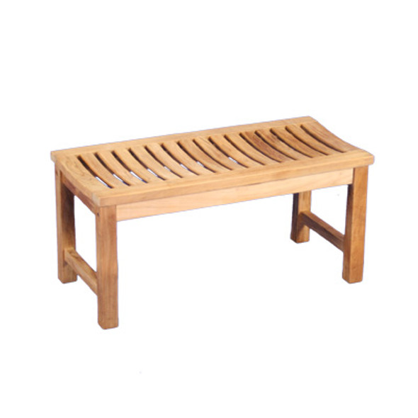 Madison Backless Bench 3' by Classic Teak