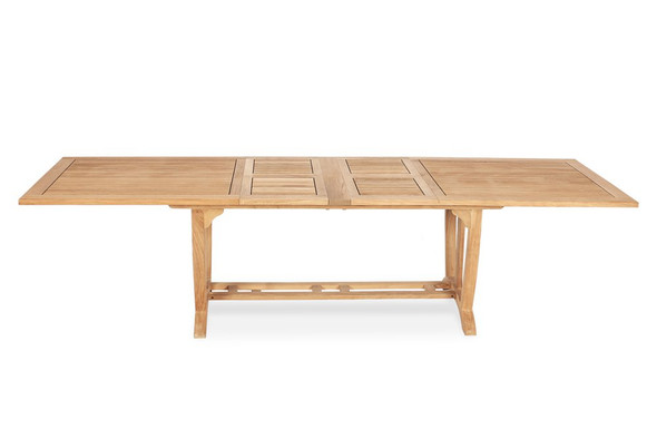 "Deluxe Rectangular Ext. Table 87""- 122"" XLarge"