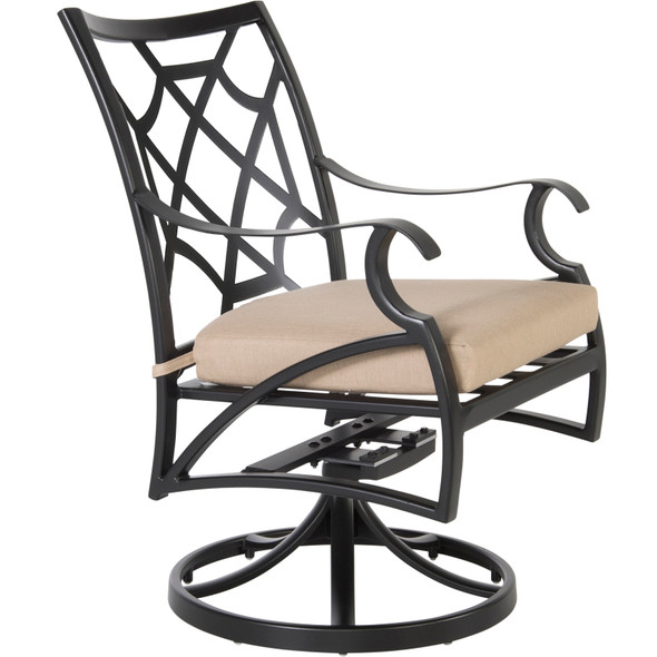 Grand Cay Swivel Rocker Dining Arm Chair by OW Lee