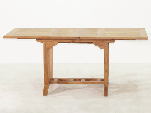 Deluxe Rectangular Ext. Teak Table (S)