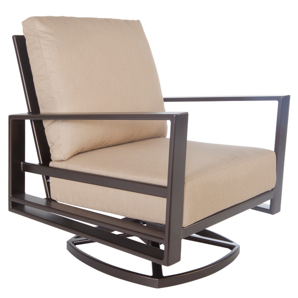 Gios Swivel Rocker Lounge Chair by OW Lee