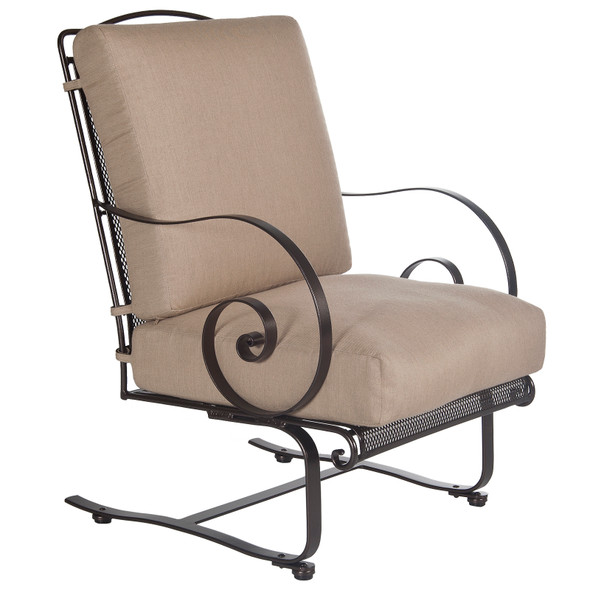 Avalon Spring Base Lounge Chair by OW Lee