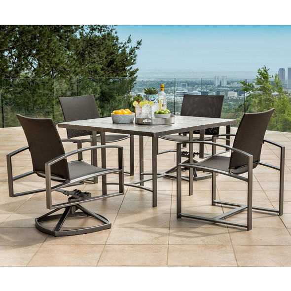 Pacifica  Dining Set For 4 By Ow Lee