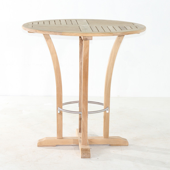 "Deluxe Round Bar Table 40"" by Classic Table"