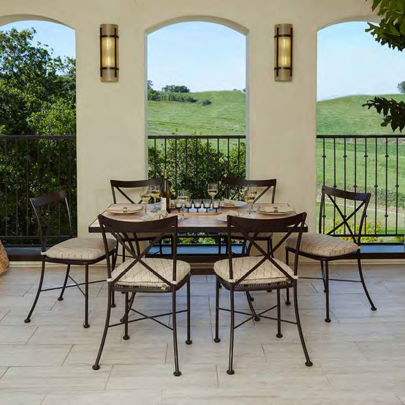 Bistro Dining Set for 6 By Ow Lee