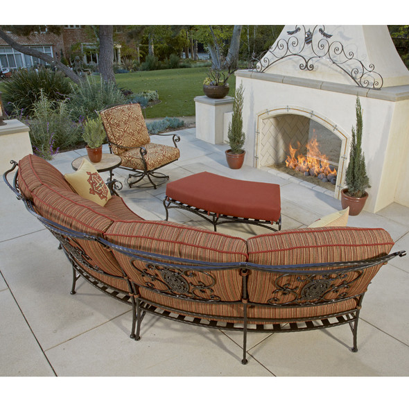 San Cristobal 5 Piece Curved Sectional Set By Ow Lee