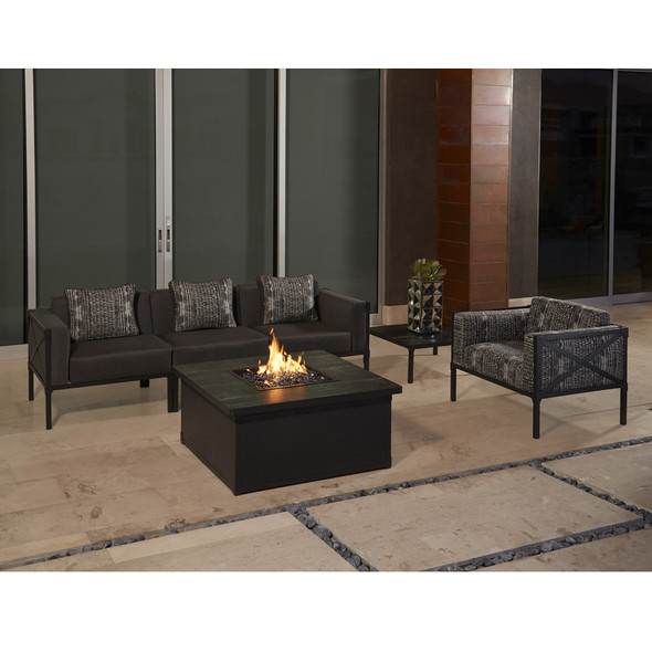 Creighton Sofa Set with Fire Table By Ow Lee