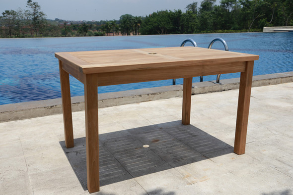 Classic Rectangle Table 4' by Classic Teak