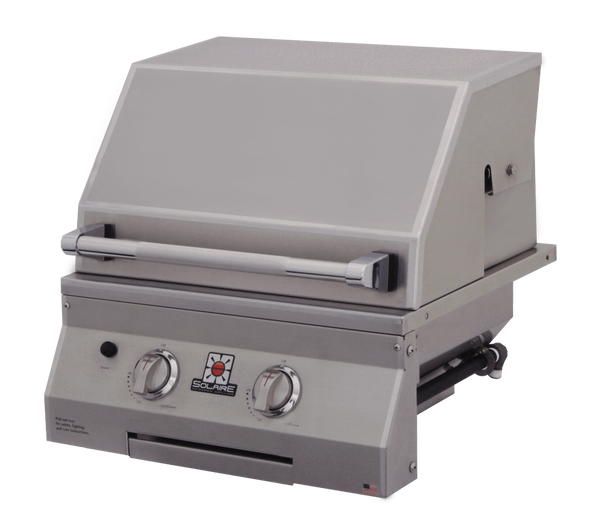 """21"""" Solaire Infrared Grill, Built-In   By Rasmussen"""