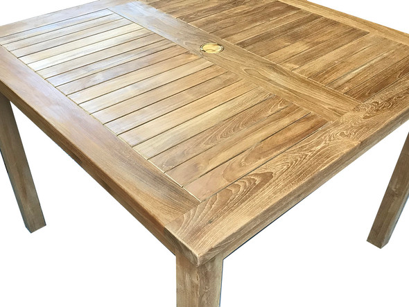 "Classic Square Table 62"" by Classic Teak"