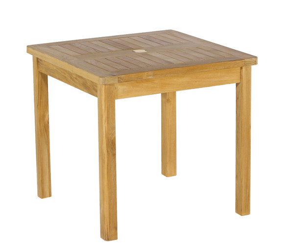 """Classic Square Table 31"""" by Classic Teak"""