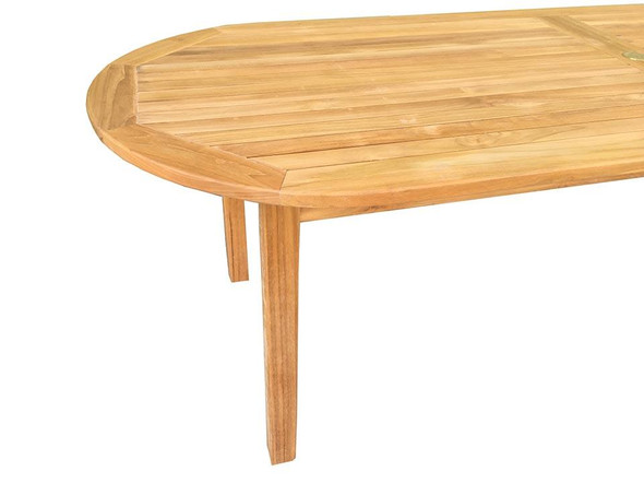 Classic Oval Table 8' by Classic Teak
