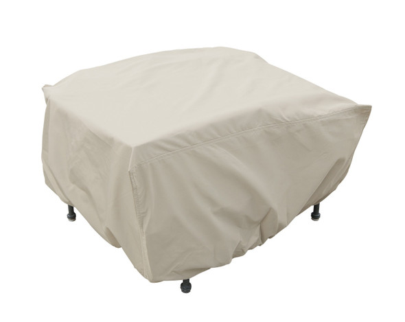 Small Fire-pit/Table/Ottoman Cover by Treasure Garden