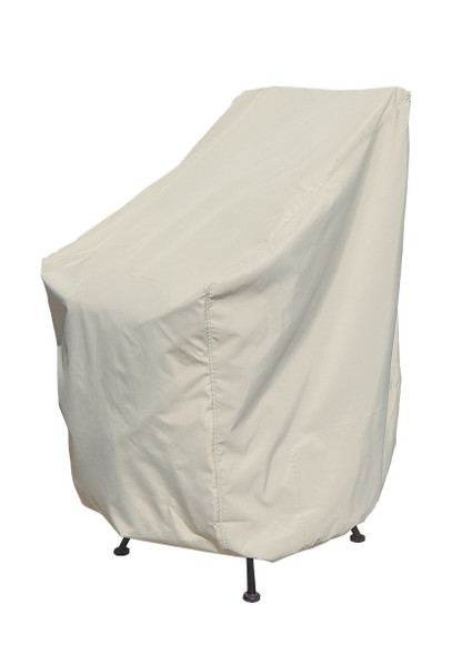 Bar Height Chair Cover by Treasure Garden
