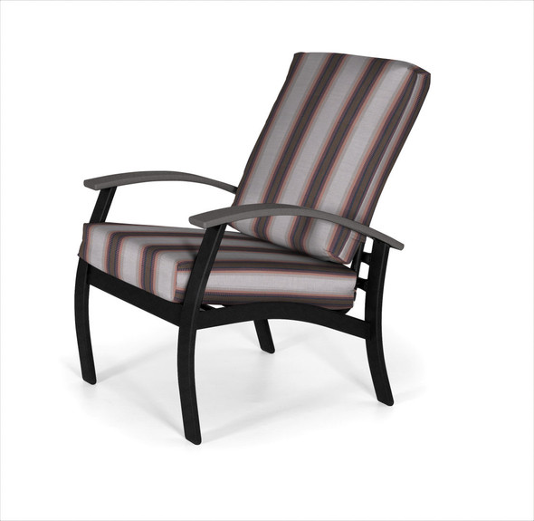 Belle Isle Cushion Arm Chair by Telescope