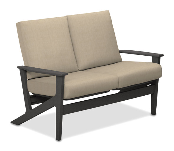 Wexler Cushion Two-Seat Loveseat by Telescope