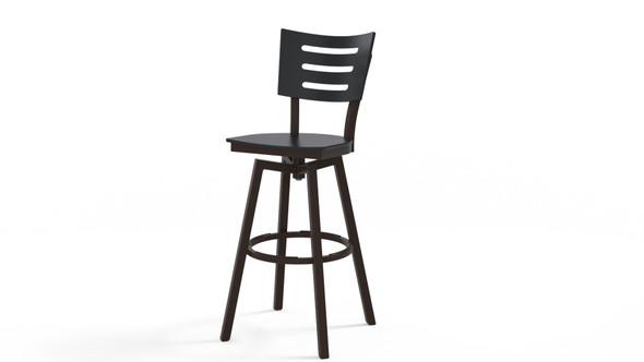 Avant MGP Bar Height Swivel Armless Chair By Telescope