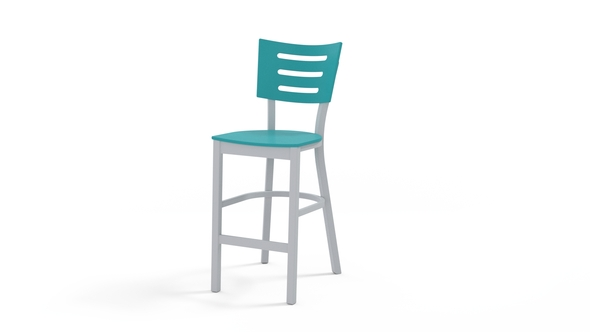 Avant MGP Aluminum Balcony Stacking Armless Chair