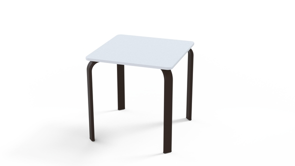 "Square 18"" MGP Top End Table By Telescope"