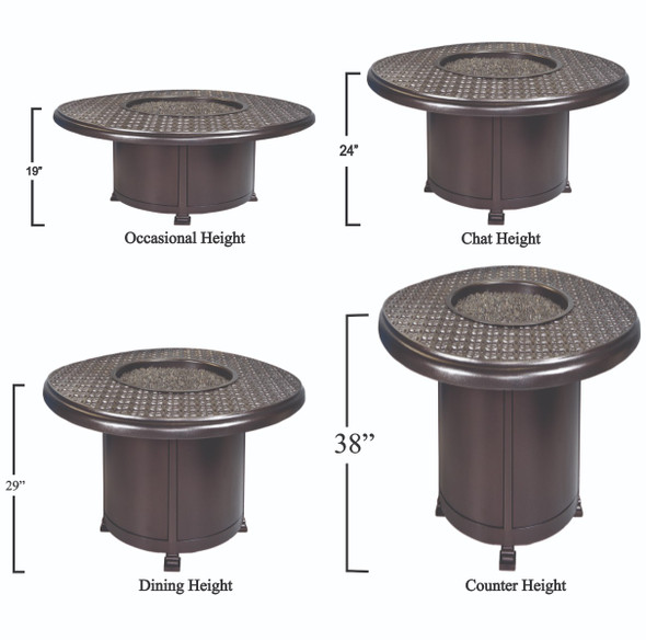 """Round 54"""" Richmond Fire Pit by OW Lee"""