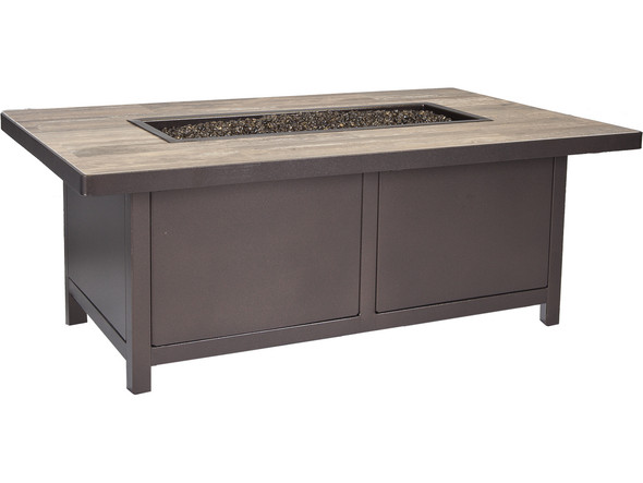 "Capri Fire Pit Rectangular 30"" x 50"""