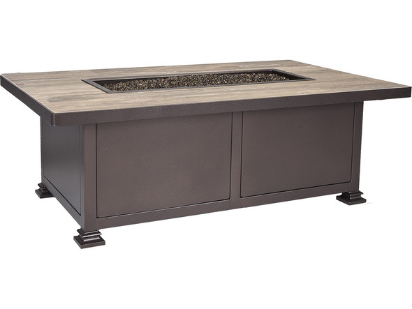 "Rectangular 30""x 50"" Santorini Fire Pit"