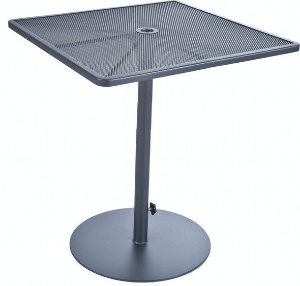 "Pedestal Square 34"" Bar Table by OW Lee"