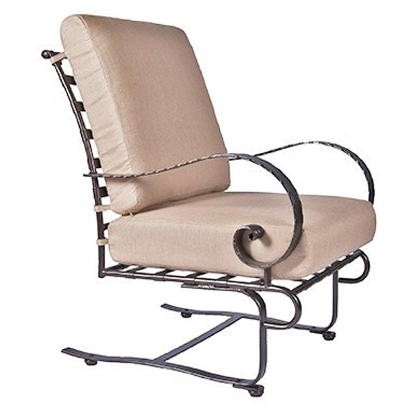Classico Spring Base Lounge Chair By Ow Lee