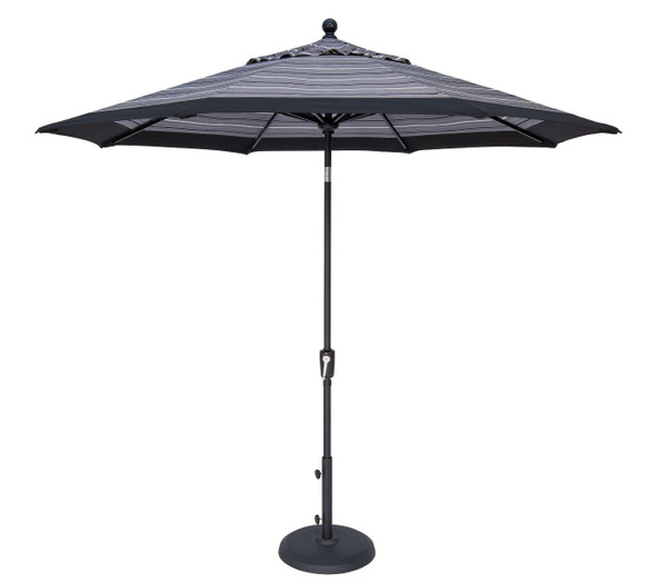 9' Push Button Tilt Octagon C Grade Umbrella by Treasure Garden