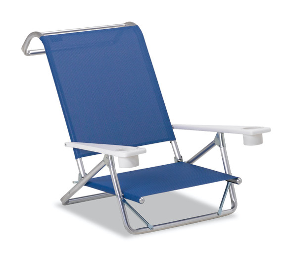Original Mini-Sun Chaise w/ MGP arms w/ cup holders by Telescope