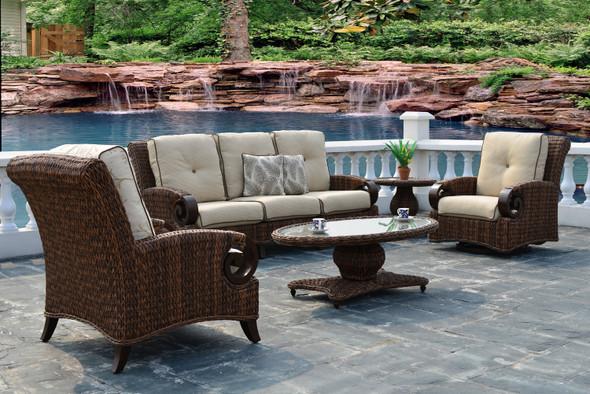 Antigua Woven Sofa set 6PC by Patio Renaissance