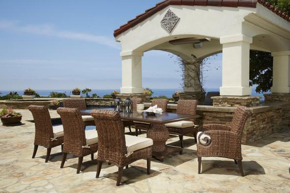 Antigua Woven Table set 9PC by Patio Renaissance