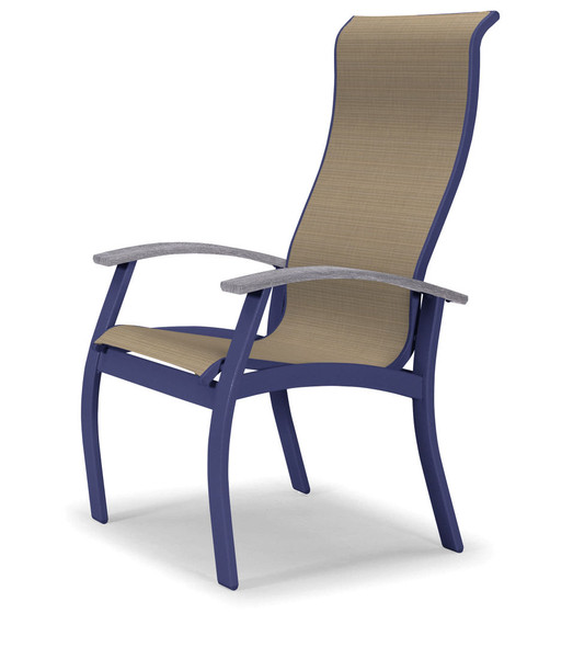 Belle Isle Supreme Sling Arm chair by Telescope