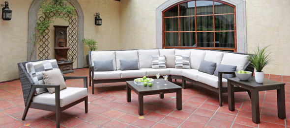 Cape Town Sectional Set 7PC by Ratana