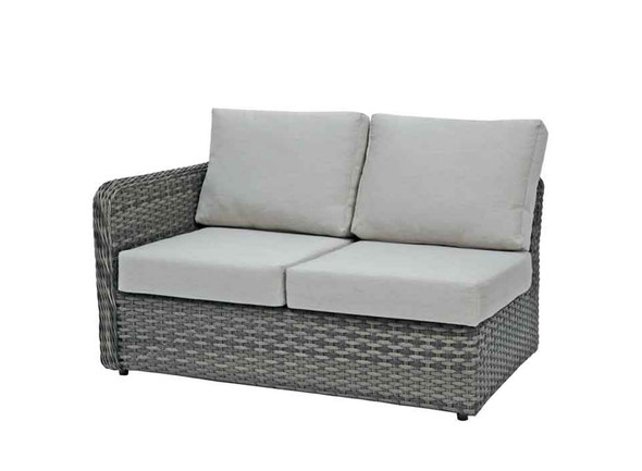 Isola Island Wicker Sectional 6 PC Set