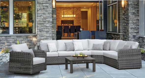 Isola Island Sectional Curved Corner