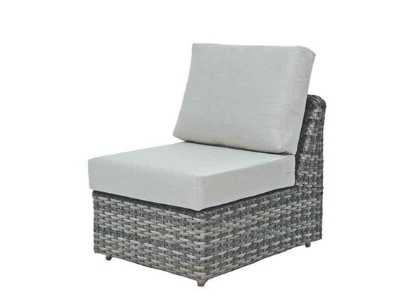 Isola Island Sectional Single Chair No Arm