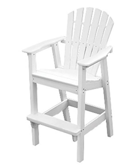 Adirondack Shellback Bar Chair by Seaside Casual