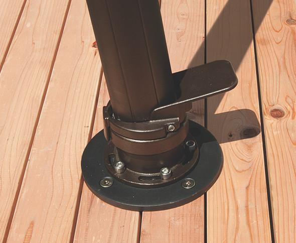 Cantilever Base Wood/Deck Mount kit