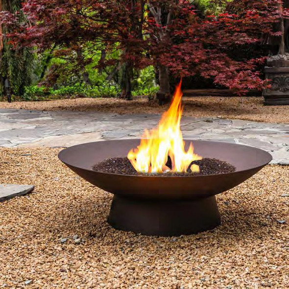 "Basso 36"" Rd. Occasional Height Fire Pit"