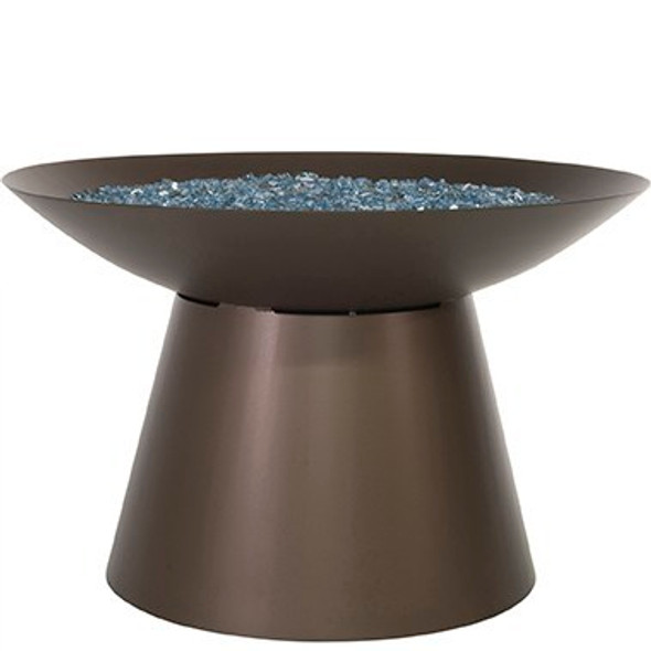 """Basso 36"""" Rd. Chat Height Fire Pit"""
