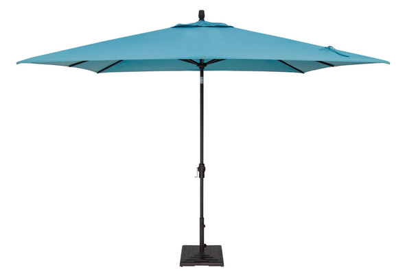 8'x10' Auto Tilt Rectangle Umbrella C Grade by Treasure Garden
