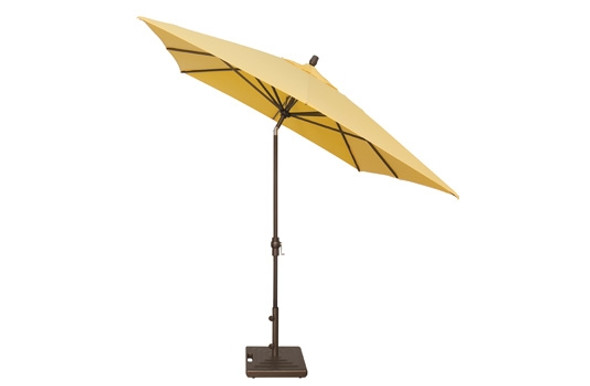 8'x10' Auto Tilt Rectangle Umbrella A Grade by Treasure Garden