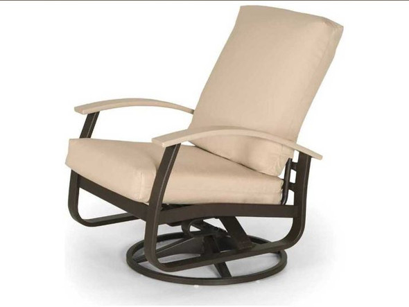 Belle Isle Cushion Swivel Rocker by Telescope