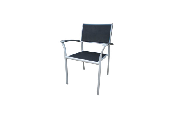 New Roma Sling Stacking Arm Chair by Ratana