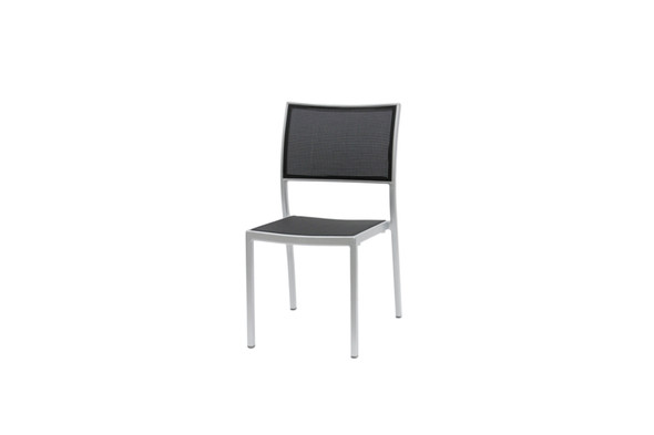 New Roma Sling Stacking Side Chair by Ratana