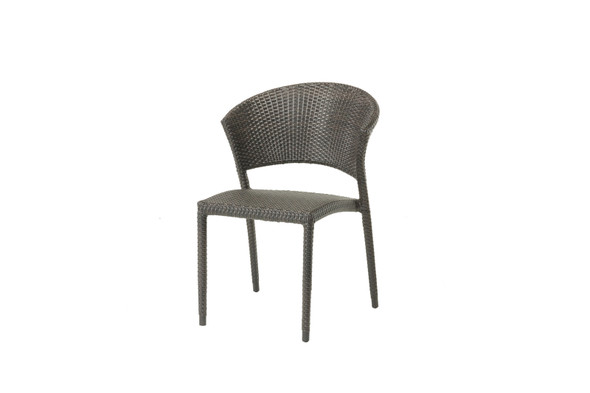 Weston Stacking Side Chair by Ratana