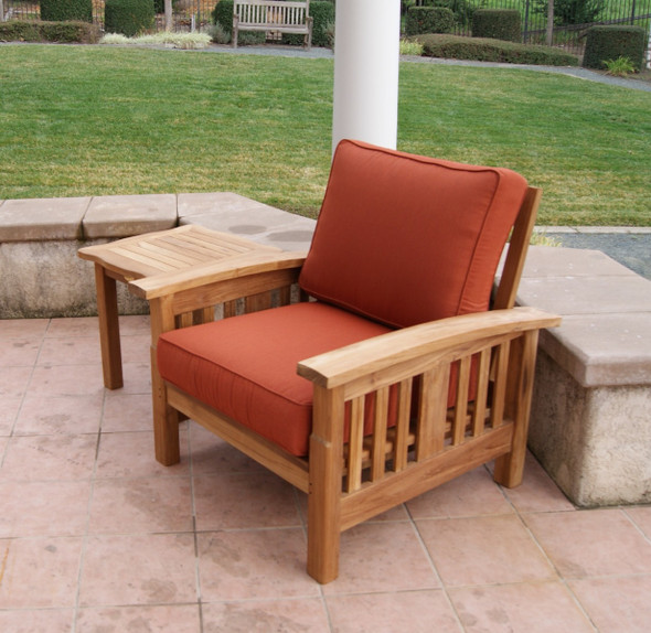 Mission Teak Club Lounge Chair